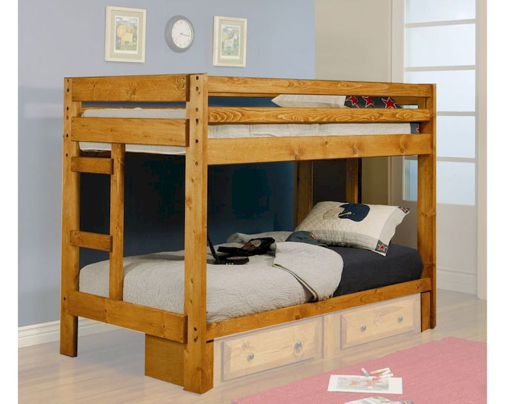 Coaster Furniture Twin Over Twin Bunk Bed Wrangle Hill