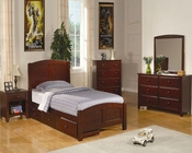 Coaster Furniture Twin Panel Bedroom Set Parker CO400291T-SSet