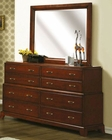 Coaster Gohman Dresser & Mirror CO-201673-4