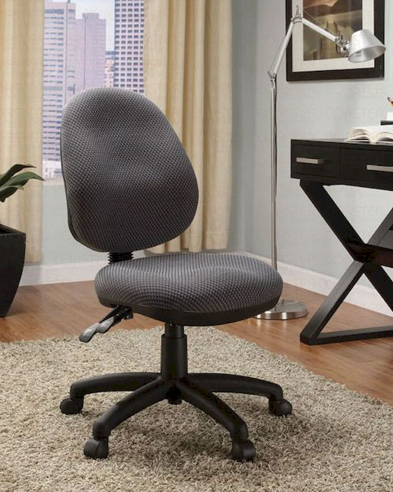 Coaster Grey Fabric Office Chair CO 800006
