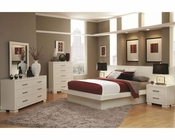 Coaster Jessica Bedroom Set in White CO-202990Set