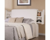 Coaster Jessica Cushioned Headboard in White CO-202999HB