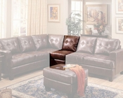 Coaster Leather Armless Chair Samuel CO-5009-AC