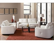 Coaster Leather Sofa Set Jasmine CO-5027Set-LSS