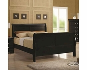 Coaster Louis Philippe Bed in Black CO-203961BED