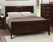 Coaster Louis Philippe Bed in Cappuccino CO-202411BED