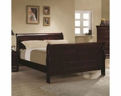 Coaster Louis Philippe Bed in Cherry CO-203971BED
