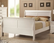 Coaster Louis Philippe Bed in White CO-204691BED