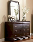 Coaster Louis Philippe Dresser & Mirror CO-203983-4N