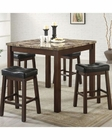 Coaster Counter Height Dining Set Sofie CO-150302Set (Set of 5 pc)