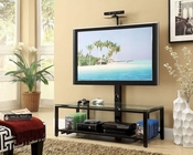 Coaster  Metal and Glass TV Console CO-700876
