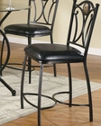 Coaster Metal Counter Height Chair Monroe CO-120622 (Set of 2)