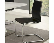 Coaster Modern Dining Black Side Chair CO-120730