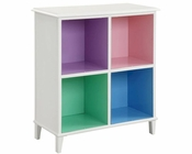 Coaster Open Bookshelf w/ Four Compartment Shelves Juliette CO-400577
