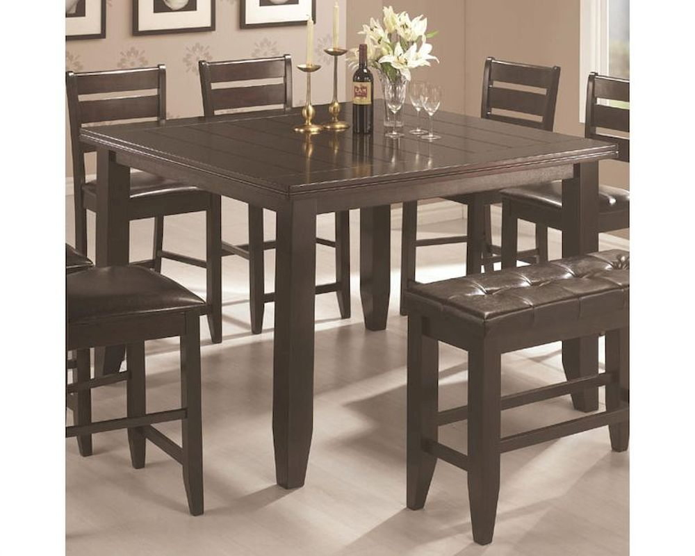 Coaster Page Contemporary Counter Height Table Co 102728