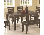 Coaster Page Contemporary Rectangular Dining Table CO-102721