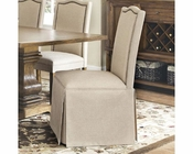 Coaster Parkins Parson Chair w/ Skirt CO-103713 (Set of 2)