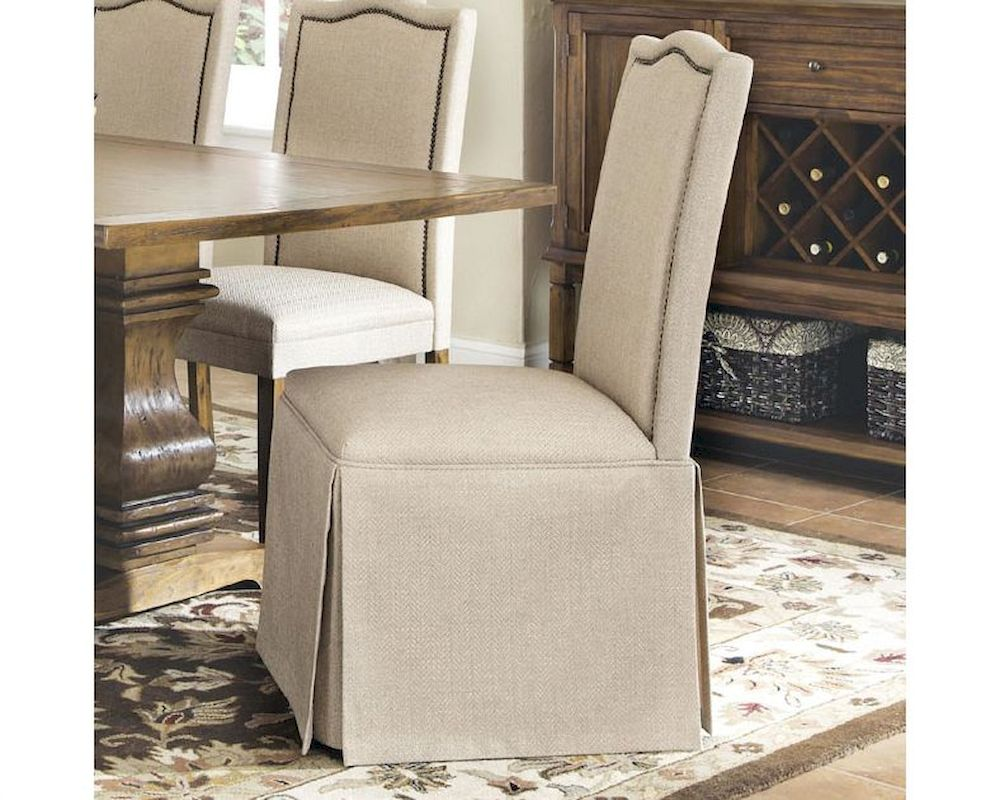 Coaster Parkins Parson Chair W Skirt Co 103713 Set Of 2
