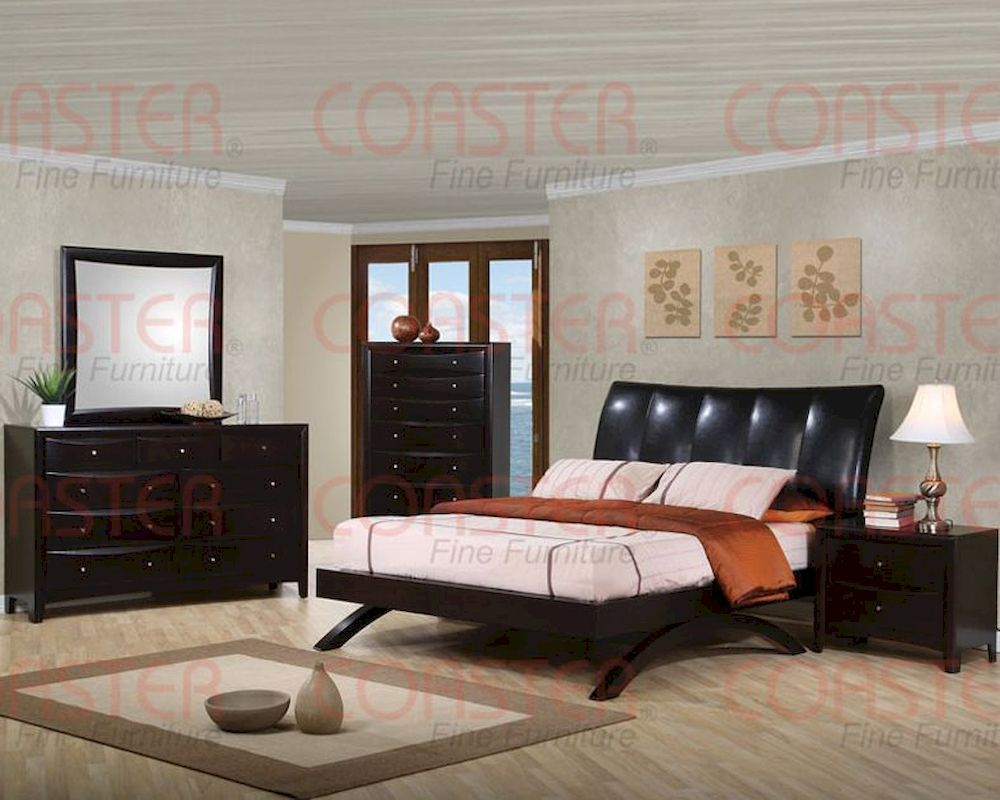 Coaster Phoenix Arc Style Queen Bedroom Set CO 300356 Set