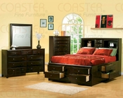 Coaster Phoenix Bedroom Set with Bookcase Headboard CO-200409-Set