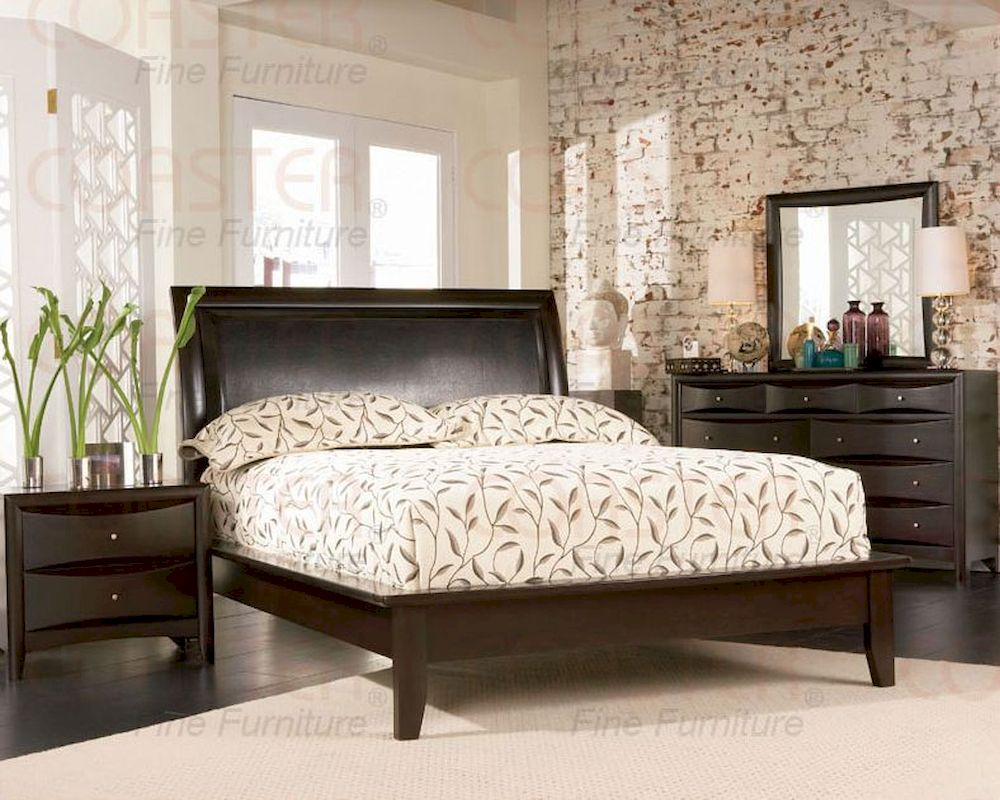 Coaster Phoenix Platform Bedroom Set CO 200410 Set