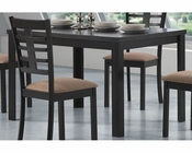 Coaster Rectangular Leg Casual Dining Table Kato CO-103981