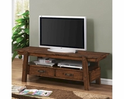 Coaster Rustic Pecan 60in TV Console CO-702106