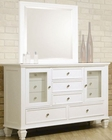 Coaster Sandy Beach Dresser in White CO-201303
