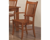 Coaster Arm Chair Marbrisa in Brown CO-100623 (Set of 2)