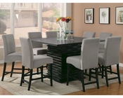 Coaster Stanton Counter Set w/ Gray Chairs CO-102068GRY-Set