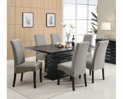 Coaster Stanton Dining Set w/ Grey Chairs CO-102061GR-Set