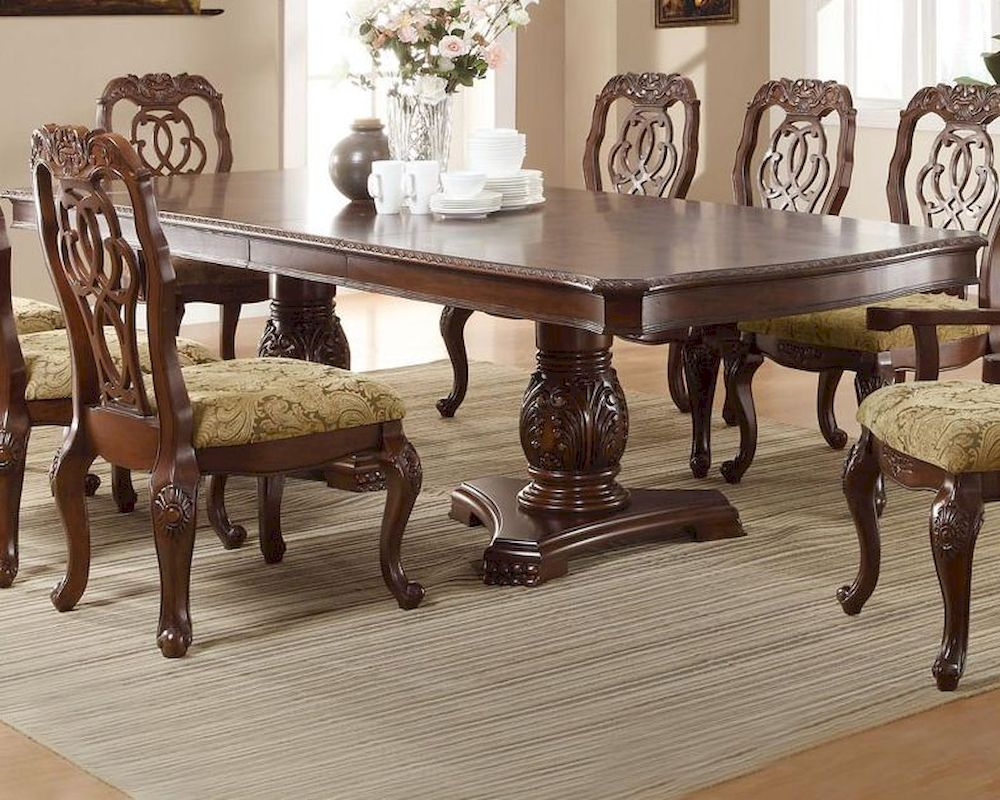 Dining Table Co Coaster Traditional Dining Table Marisol Co 103441