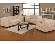 Coaster Transitional Sofa Set Alexis CO-5043Set-LSS