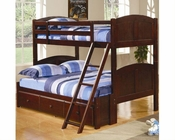 Coaster Twin Full Panel Bunk Bed with Storage Parker CO460212-400291S