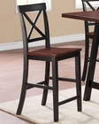 Coaster Two-Tone Counter Height Chair Makelim CO-104502 (Set of 2)