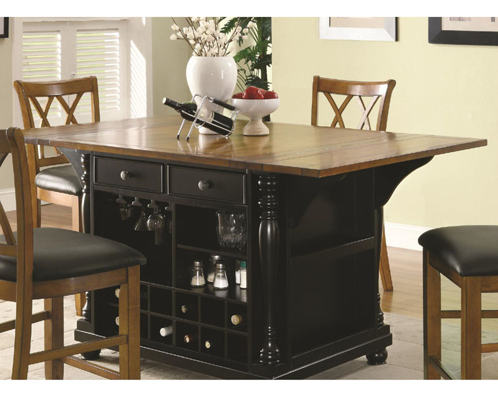 Coaster Two Tone Kitchen Island Kitchen Carts Co 102270 71