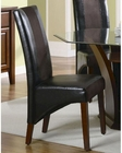 Coaster Upholstered Dining Side Chair Rodeo CO-102242 (Set of 2)