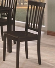 Coaster Venice Slat Back Dining Side Chair CO-103192 (Set of 2)