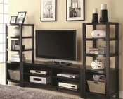 Coaster Wall Units TV Console w/ Media Towers CO-700697Set