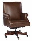 Coffee Leather Executive Chair by Hekman HE-79250C