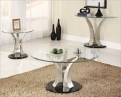 Coffee Table Set Charlaine by Homelegance EL-3400-01-SET