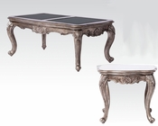 Coffee Table Set in Antique Platinum Chantelle by Acme AC80540SET