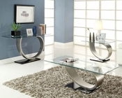 Coffee Table Set Silvera by Homelegance EL-3449-30-SET