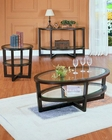 Coffee Table Set Vista by Homelegance EL-3206-30-SET