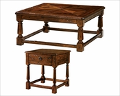 Coffee Table Set w/ Stretcher Base Rue de Bac by Hekman HE-87203-SET