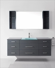 Columbo Grey 63in Single Bathroom Set by Virtu USA VU-UM-3089-G-GR