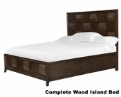 Complete Wood Island Bed Ribbons by Magnussen MG-B3032-51