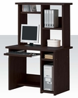 Computer Desk w/ Hutch in Espresso Finish AC04690DH
