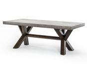 Concrete Rectangular Dining Table 44D1501V