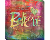 Connie Haley Believe Canvas Giclee